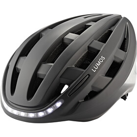 Lumos Kickstart Casco, charcoal black